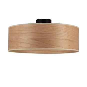 Plafonieră cu abajur din lemn de cireș Sotto Luce TSURI XL imagine