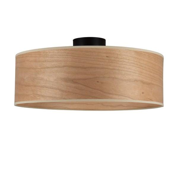 Lampa sufitowa z kloszem z drewna wiśniowego Sotto Luce TSURI XL