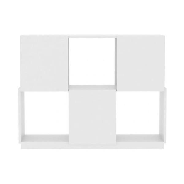 Bílá matná knihovan TemaHome Branch 2/3
