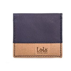 Kožená peněženka na drobné Lois Blue, 8x7 cm