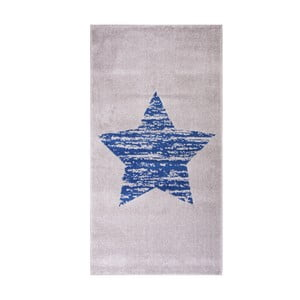 Covor pentru copii Nattiot Lucero, 80x150 cm, albastru
