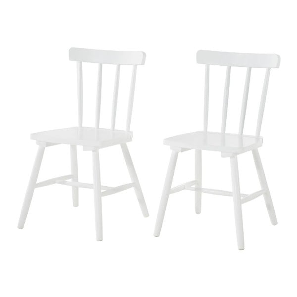 Set 2 židlí Kaos White