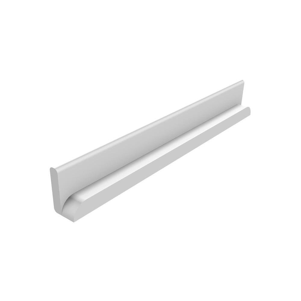 Bílá bezpečnostní lišta Flexa Cabby, délka 68 cm