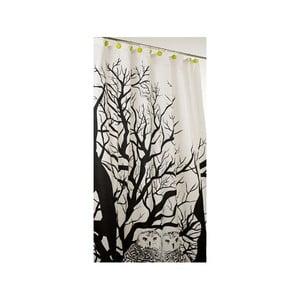 Sprchový závěs In stereo black, 180x200 cm
