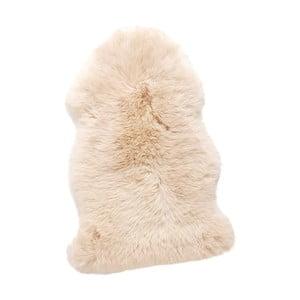 Bílá pravá ovčí kožešina Hübsch Mogens