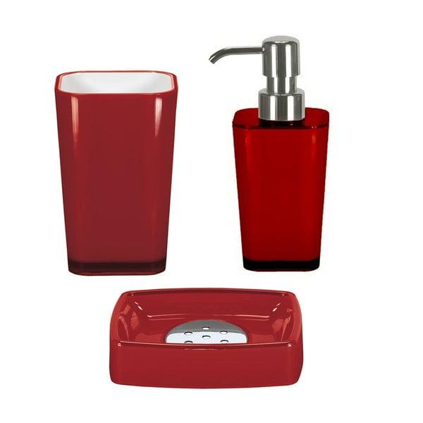 Koupelnový set Easy Red Set