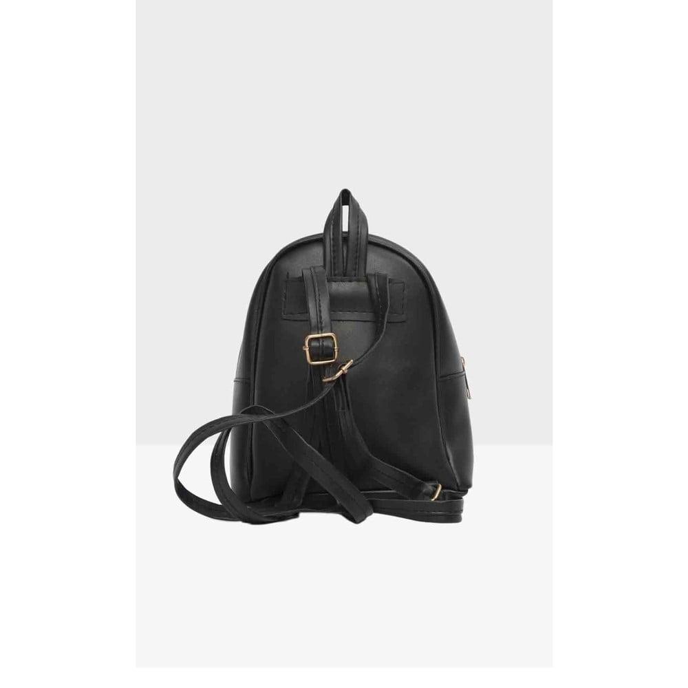 8faa6f38016 Černý dámský batoh Mori Italian Factory Paresso Laro ...