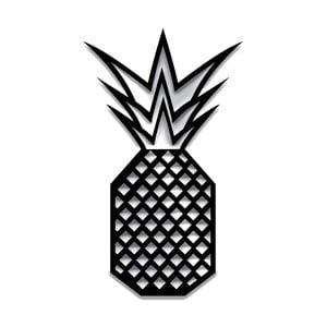 Černá nástěnná dekorace Dekorjinal Pouff Pineapple, 40x23cm