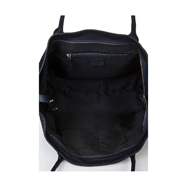 Kožená kabelka Giorgio Costa 15014 Blue