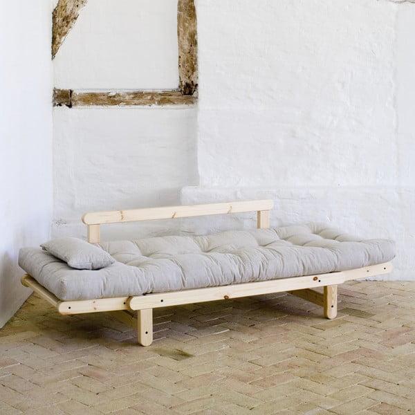 Sofa Beat, přírodní/flax