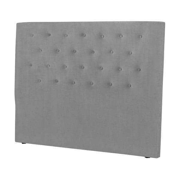 Světle šedé čelo postele Windsor & Co Sofas Astro, 200 x 120 cm