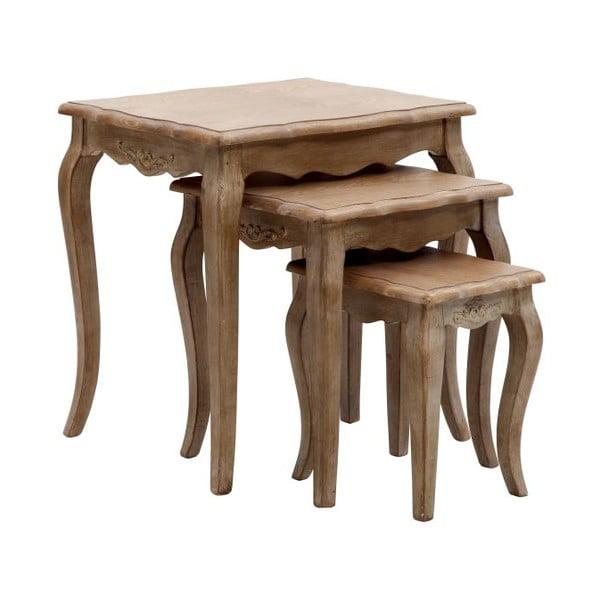 Sada 3ks stoliček Tavolinetti