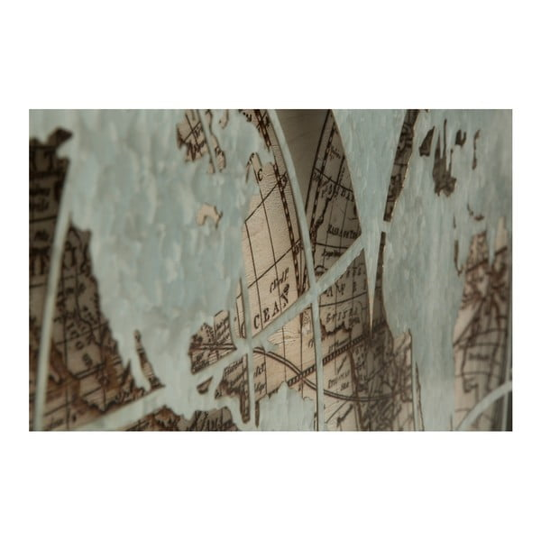 Nástěnná dekorace Mauro Ferretti World, 112 x 57 cm