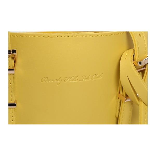 Žlutá kabelka Beverly Hills Polo Club Alicia