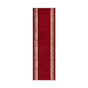 Covor Basic Elegance, 80x200 cm, roșu