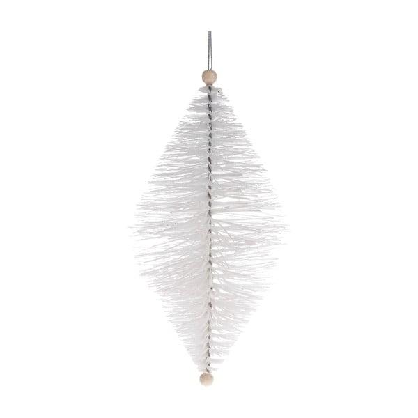 Fehér függődísz, hosszúság 24 cm - Dakls