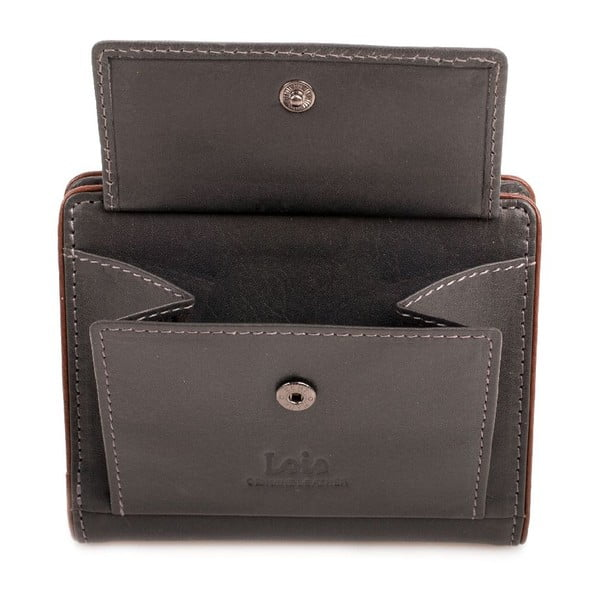 Kožená peněženka Lois Vision, 8,5x10,5 cm