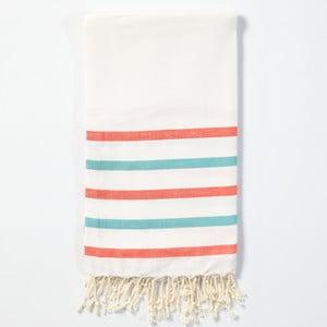 Hamam osuška z ručně tkané bavlny ZFK Emille, 170x100cm