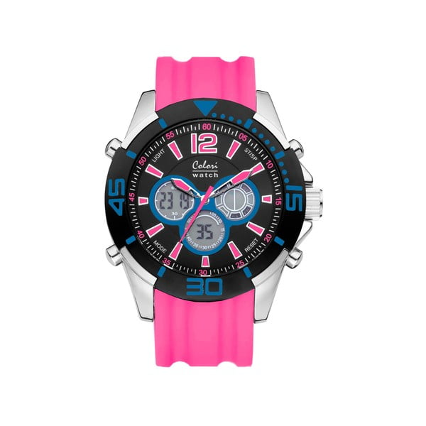 Hodinky Colori 47 Blue/Pink