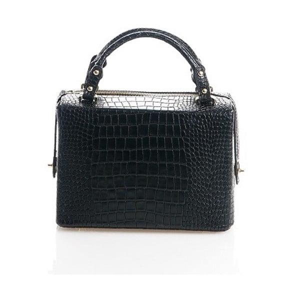 Kožená kabelka Emilie, černá