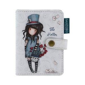 Peněženka na doklady Santoro London Gorjuss The Hatter