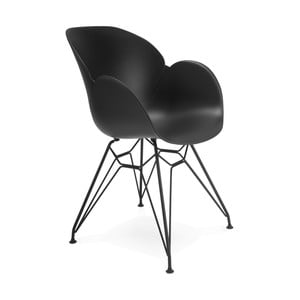 Černá jídelní židle Kokoon Umela