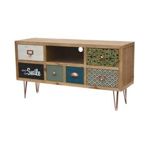 Televizní stolek z jedlového dřeva Livin Hill Portofino