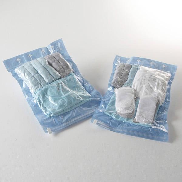 Vakuové obaly na oblečení Compactor Blue S, 2 ks