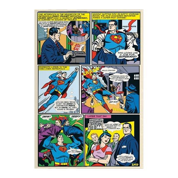 Velkoformátová tapeta Superman Comics, 158x232cm