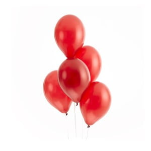 Set 50 baloane Neviti Party, roșu