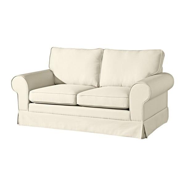 Hillary kétszemélyes krémszínű kanapé - Max Winzer