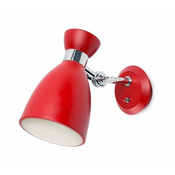 Nástěnné světlo Retro Rosso