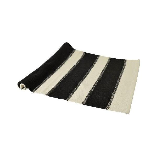 Koberec Blockrand 70x200 cm, černý
