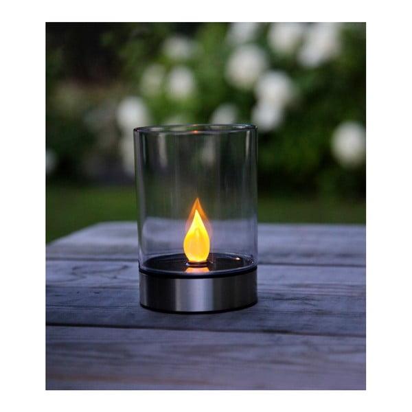 Zahradní světlo Solar Energy Garden Light Candle Steel