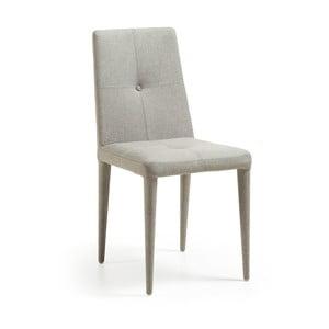 Sada 2 světle šedých židlí La Forma Chic