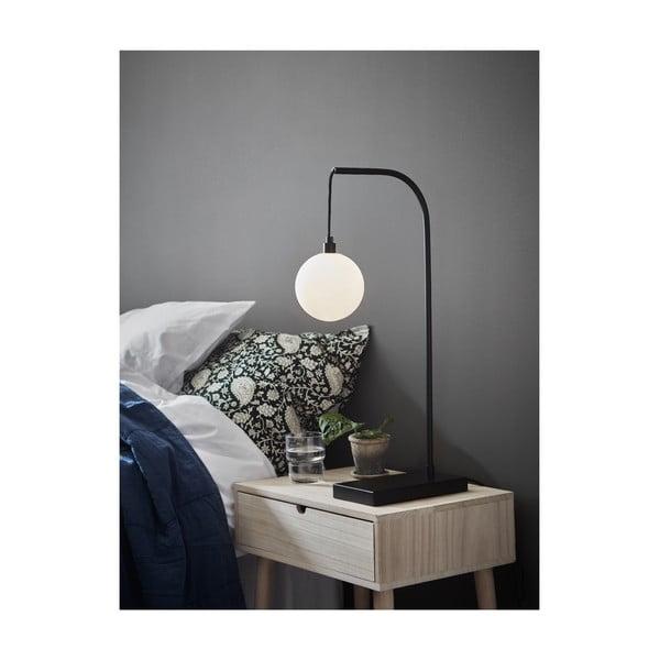 Černá stolní lampa Markslöjd Buddy