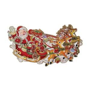 Vánoční dekorace Rex London Kitsch Santa Sleigh