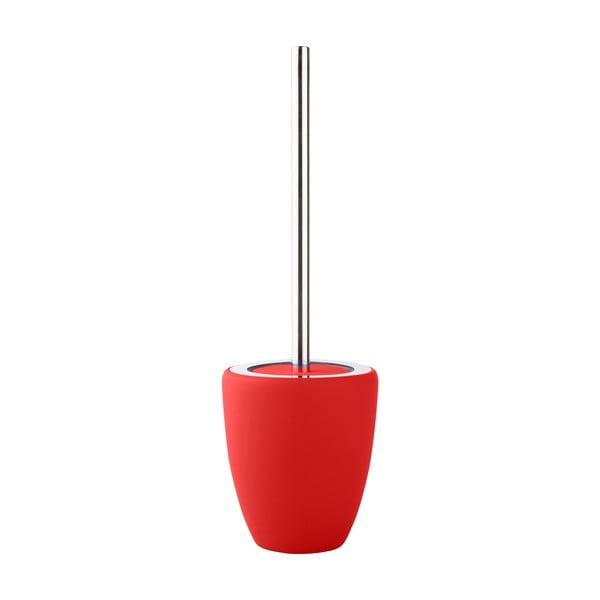 Toaletní kartáč, červený