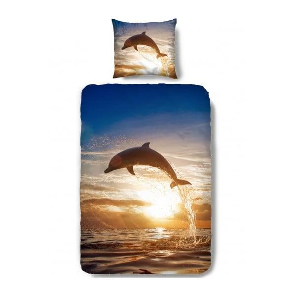 Povlečení Muller Textiel Dolphin, 140 x 200 cm