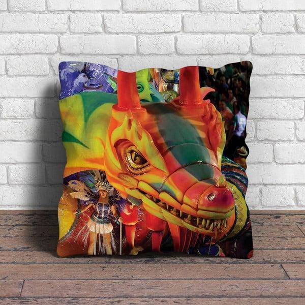 Polštář s výplní Carneval no. 88