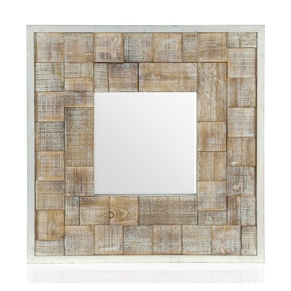 Nástěnné zrcadlo Washed, 80x80 cm