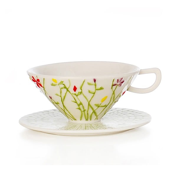 Ručně malovaný porcelánový šálek Seasons Aprile