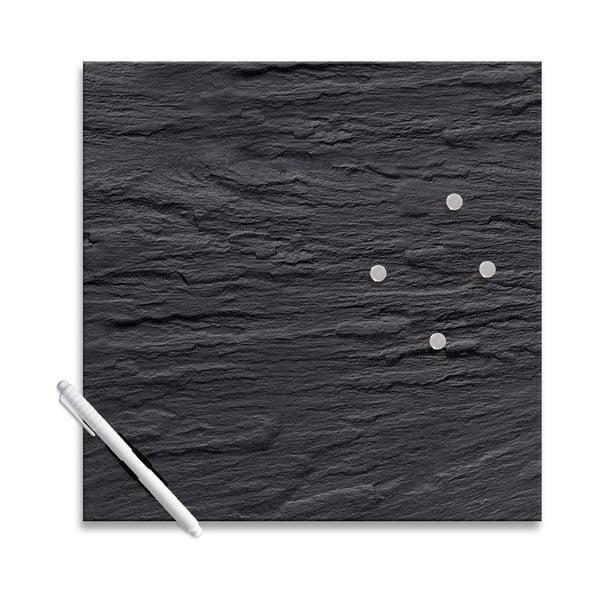 Magnetická tabule Eurographics Black Slate,30x30cm