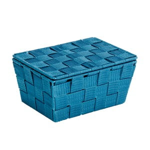 Coș cu capac Wenko Adria, albastru