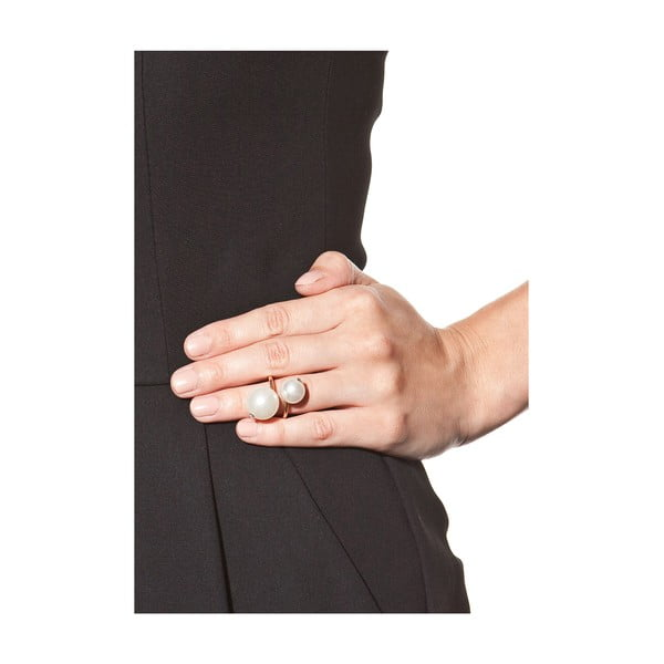 Amelia aranyszínű gyűrű - NOMA
