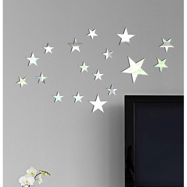 Zrcadlové samolepky Million Stars