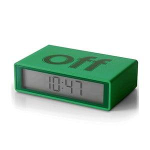 Překlápěcí budík Flip, zelený