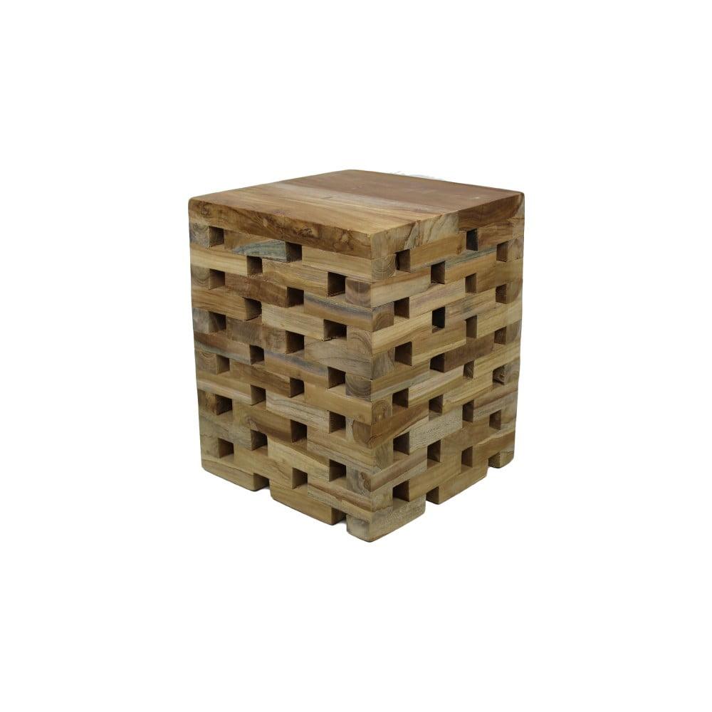 Stolička z teakového dřeva HSM Collection Bahta