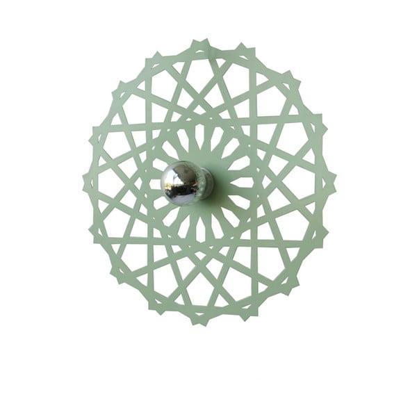 Dekorativní disk kolem světla Disque, mentolový