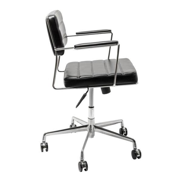 Černá kancelářská židle Kare Design Dottore